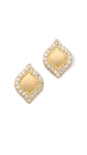 Jamie Wolf Aladdin Teardrop Stud Earrings