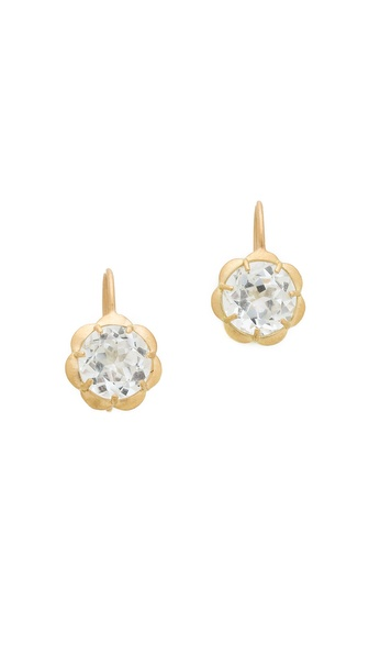 Jamie Wolf Petite Scallop Drop Earrings