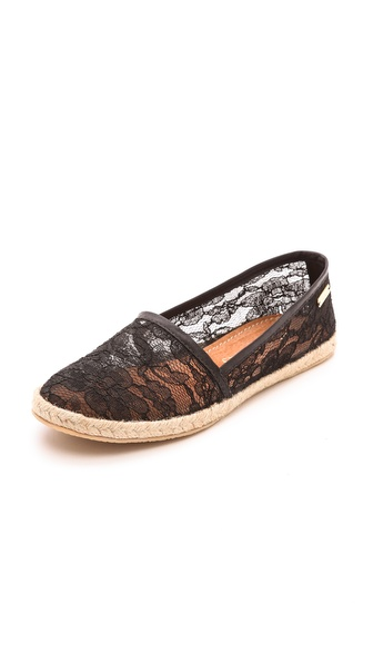 Kupi KAANAS cipele online i raspordaja za kupiti Kaanas Lace Espadrille Black cipele