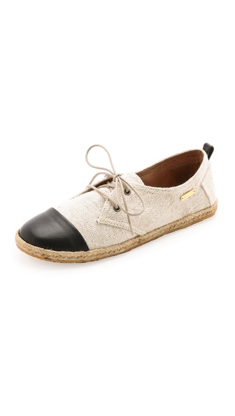 KAANAS Wayuu Lace Up Espadrilles