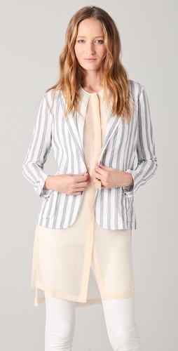 Kaelen Striped Blazer