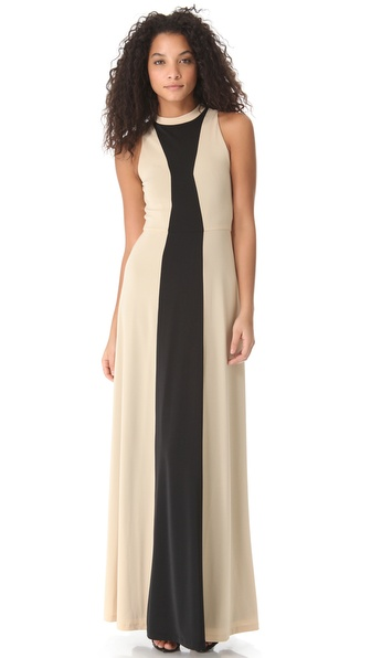 Kaelen High Neck Gown