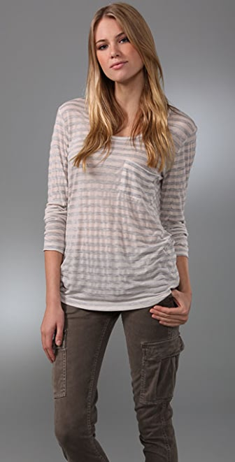 KAIN Label Peri Striped Long Sleeve Tee