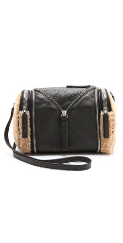 KARA Double Date Convertible Shearling Bag at Shopbop / East Dane