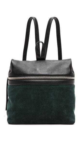 KARA Suede Backpack