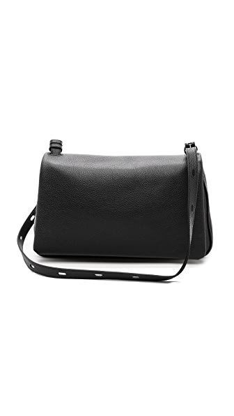 Kara Kara Classic Messenger Bag (Black)