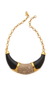 KARA by Kara Ross Resin Collar Necklace with Inlay