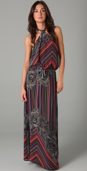 Karen Zambos Vintage Couture Gemma Long Dress