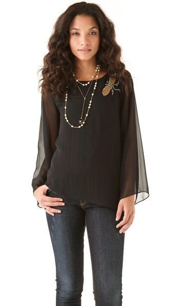 Karen Zambos Vintage Couture Jaden Top