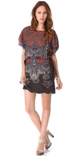 Karen Zambos Vintage Couture Tiffani Tie Dress