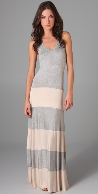 Karina Grimaldi Biscot Long Tank Dress