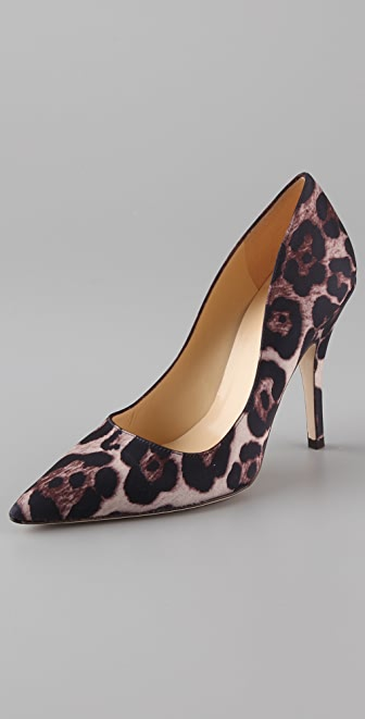 Kate Spade New York Licorice Satin Pumps