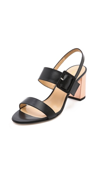 Kate Spade New York Metallic Heel Sandals