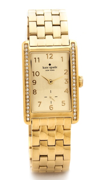 Kate Spade New York Cooper Grand Watch - Gold/Clear at Shopbop / East Dane