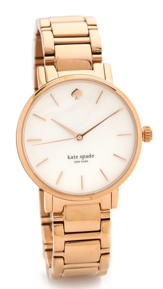 Kate Spade New York Gramercy Bracelet Watch - Rose Gold at Shopbop / East Dane
