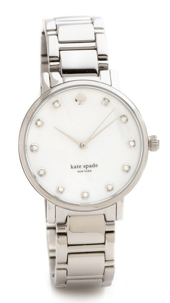 Kate Spade New York Gramercy Bracelet Watch - Silver at Shopbop / East Dane