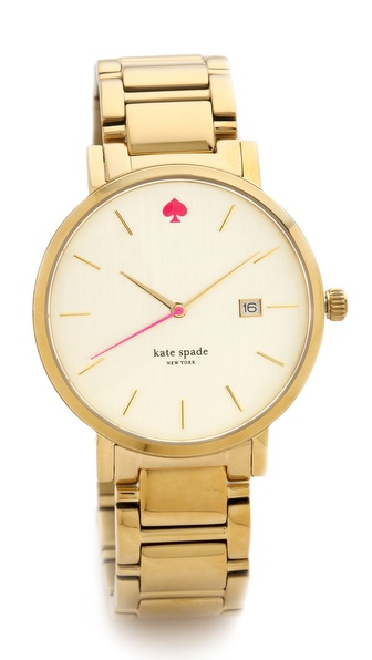 Kate Spade New York Gramercy Grand Bracelet Watch - Gold at Shopbop / East Dane