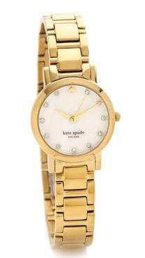 Kate Spade New York Gramercy Mini Crystal Marker Watch
