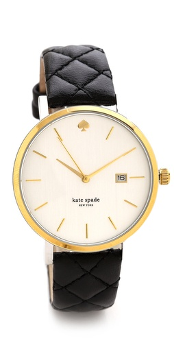 Kate Spade New York Metro Grand Quilted Watch at Shopbop / East Dane