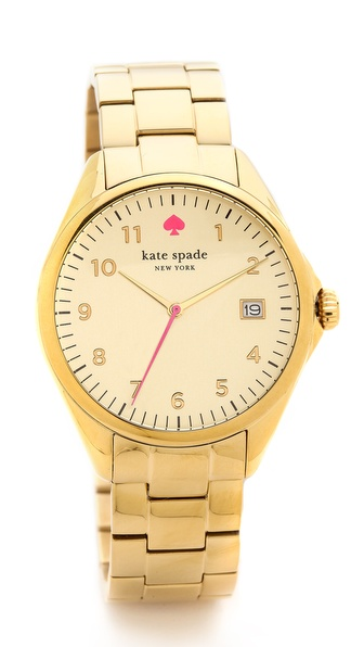 Kate Spade New York Seaport Grand Watch - Gold at Shopbop / East Dane
