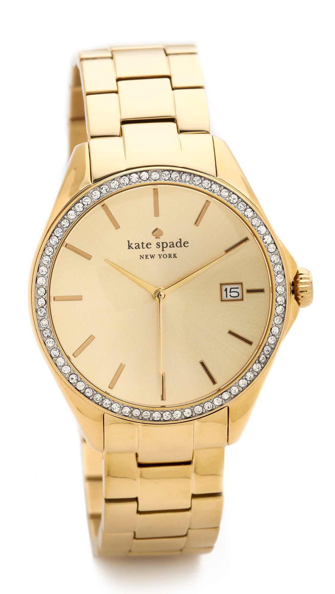 Kate Spade New York Seaport Grand Crystal Bezel Watch on PopScreen 14aa722145