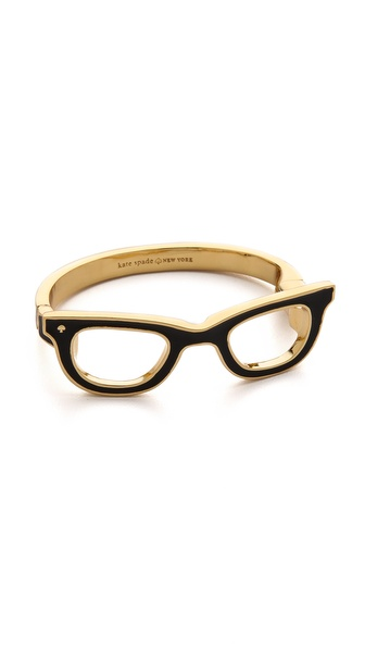 Kate Spade New York Goreski Glasses Bangle Bracelet