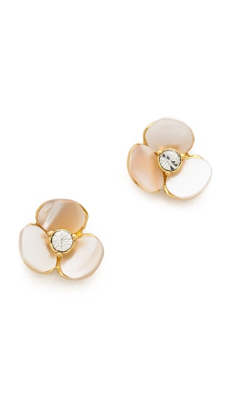Kate Spade New York Disco Pansy Stud Earrings