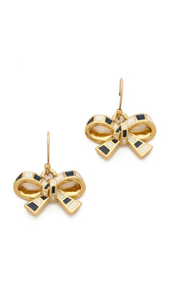 Kate Spade New York Finishing Touch Striped Earrings