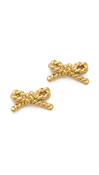 Kate Spade New York Skinny Mini Rope Stud Earrings