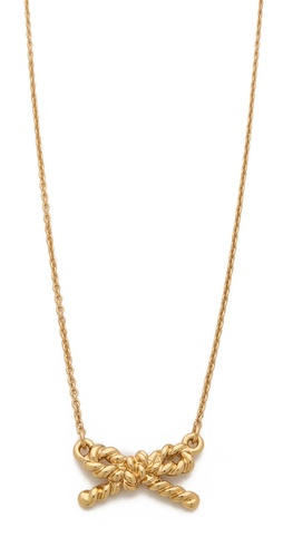 Kate Spade New York Skinny Mini Rope Pendant Necklace at Shopbop / East Dane