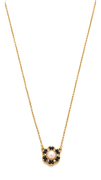 Kate Spade New York Park Floral Mini Pendant Necklace