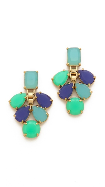Kate Spade New York Boardwalk Stroll Chandelier Earrings