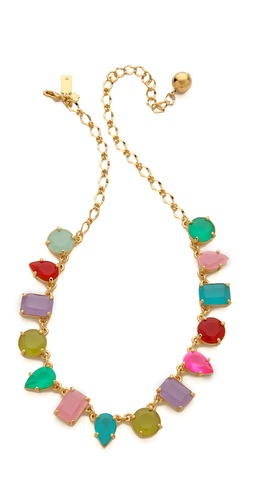 Kate Spade New York Gumdrop Gem Mini Necklace