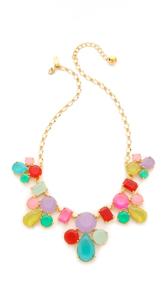 Kate Spade New York Gumdrop Gem Necklace