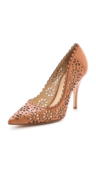 Kate Spade New York Lana Laser Cut Floral Pumps