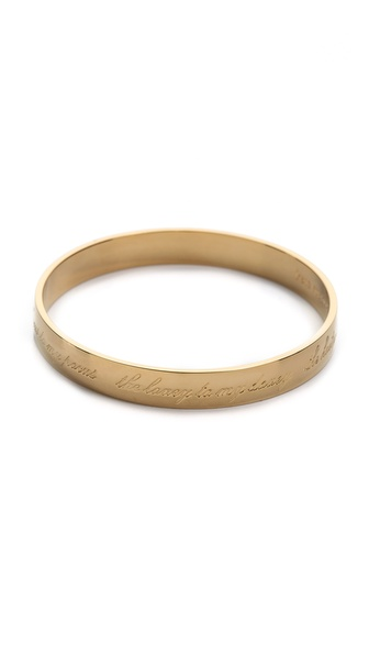 Kate Spade New York Mother of the Bride Bangle Bracelet