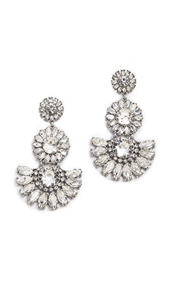 Kate Spade New York Estate Garden Statement Earrings