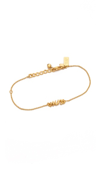 Kate Spade New York Say Yes Mrs Bracelet
