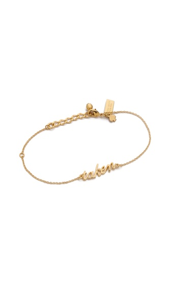 Kate Spade New York Say Yes Taken Bracelet