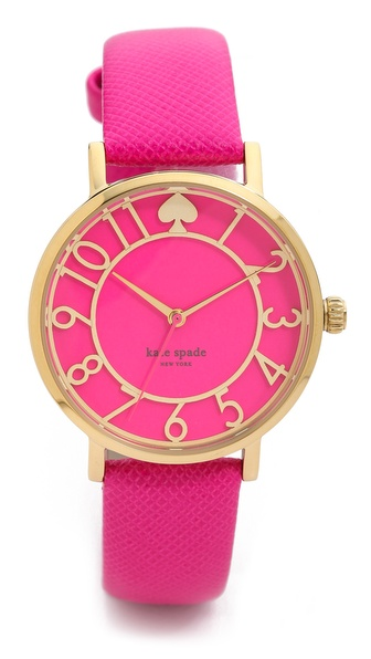 Kate Spade New York Metro Cutout Watch - Bougainvillea Pink at Shopbop / East Dane