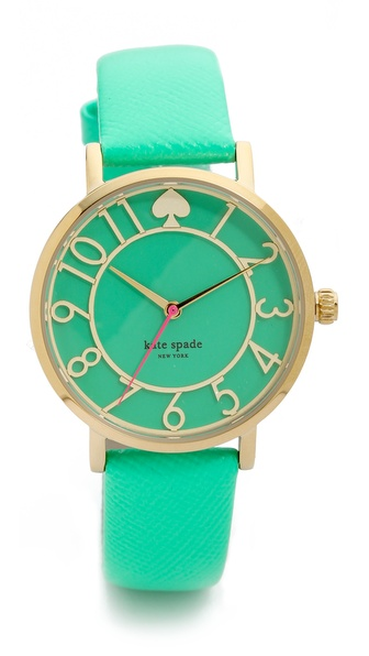 Kate Spade New York Metro Cutout Watch - Bud Green at Shopbop / East Dane