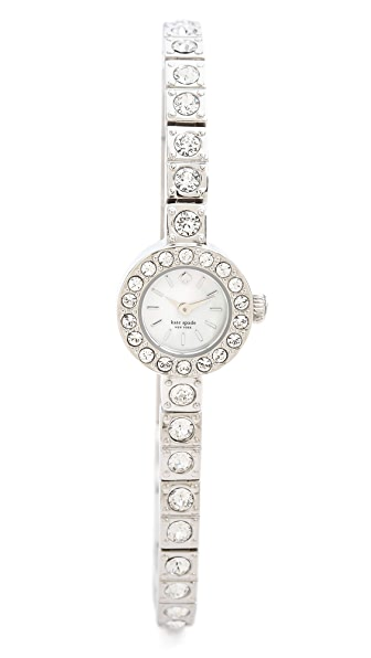 Kate Spade New York Pave Stainless Teeny Watch