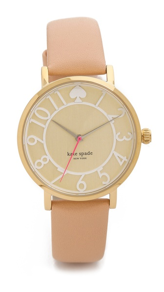 Kate Spade New York Metro Two Tone Watch - Vachetta at Shopbop / East Dane