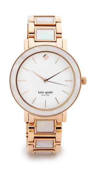Kate Spade New York Gramercy Grand Watch - Rose Gold at Shopbop / East Dane
