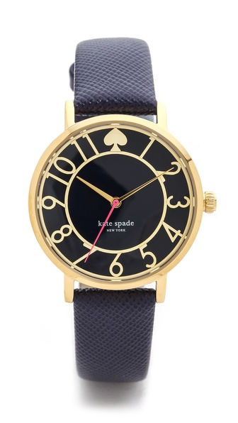 Kate Spade New York Metro Cutout Watch - Navy at Shopbop / East Dane
