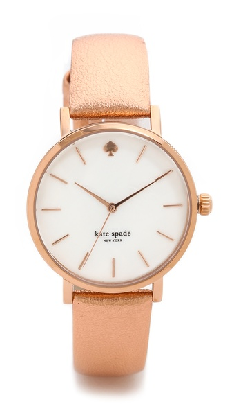 Kate Spade New York Metro Watch - Rose Gold at Shopbop / East Dane