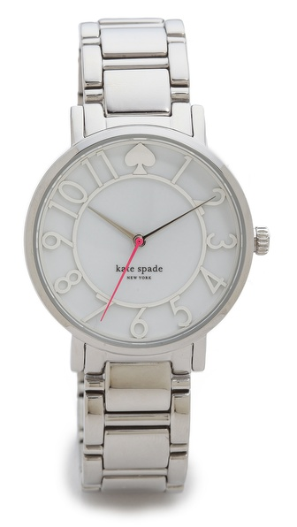 Kate Spade New York Gramercy Cutout Watch - Stainless Steel at Shopbop / East Dane