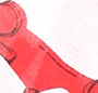 Laquer Red/Cream