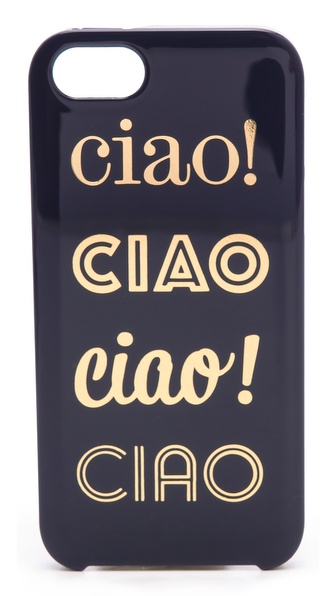 Kate Spade New York Ciao Ciao Ciao iPhone 5 / 5S Case