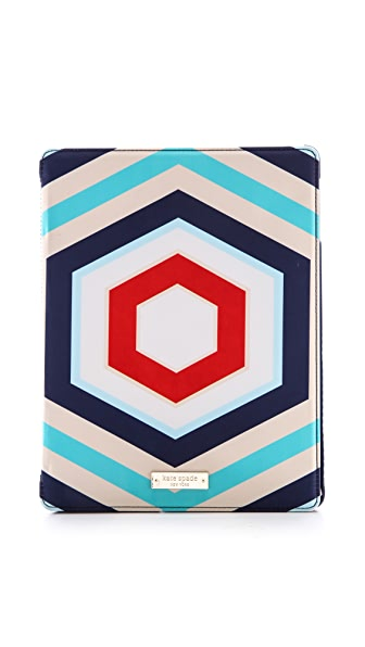 Kate Spade New York Hexagon Geometric iPad Folio Case